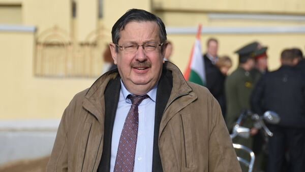 Посол России в Республике Таджикистан Игорь-Лякин Фролов