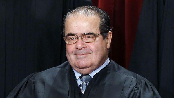 Судья Верховного суда США Антонин Скалиа. Архивное фото