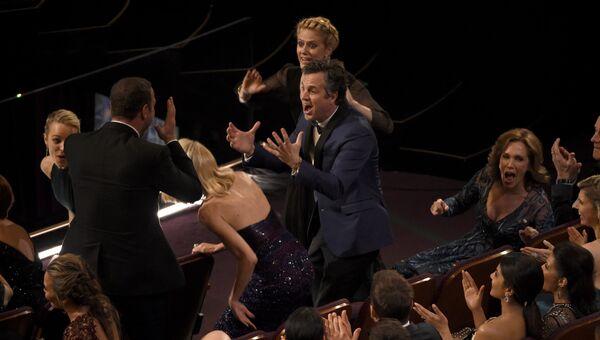 Команда фильма В центре внимания на 88-й церемонии вручения премии Оскар