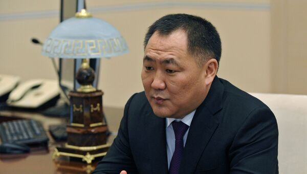 Врио главы Республики Тыва Шолбан Кара-оол. Архивное фото