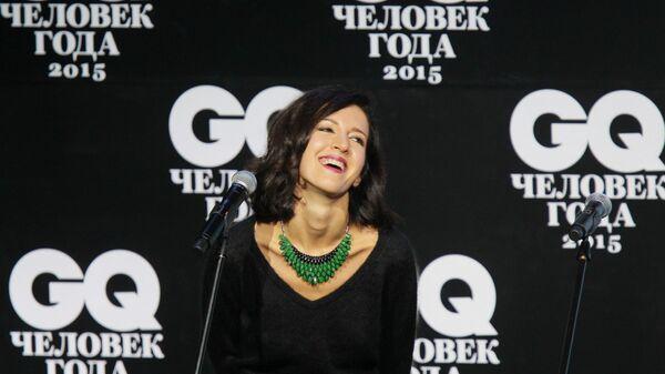Матильда Шнурова (Елена Мозговая) на торжественной церемонии вручения премии издания GQ Человек года в концертном зале Барвиха Luxury Village