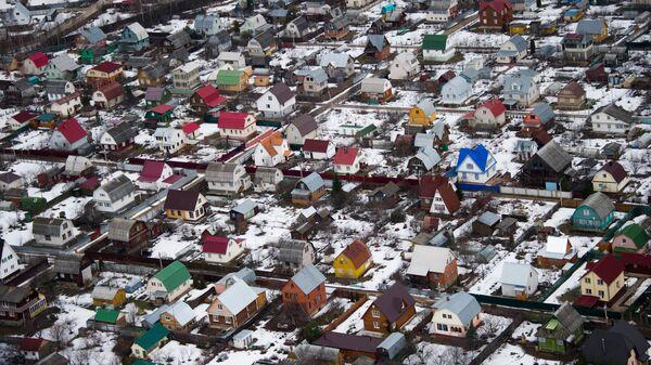Виды Московской области с вертолета