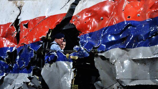 Представление доклада об обстоятельствах крушения Boeing 777. Архивное фото