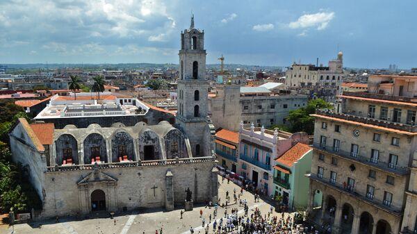 Вид на Гавану, Куба. Архивное фото