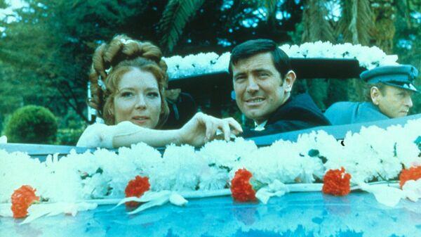 Кадр из фильма На секретной службе ее Величества