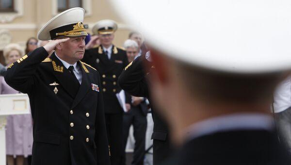 Бывший главнокомандующий Военно-морским флотом вице-адмирал Виктор Чирков. Архивное фото
