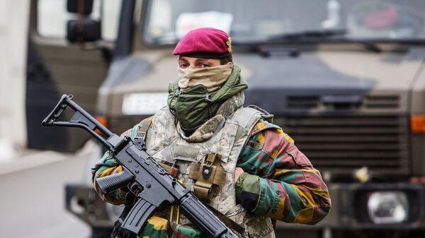 Бельгийский военнослужащий