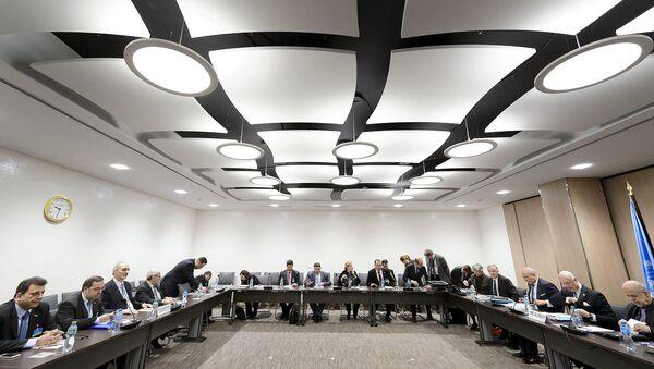 Мирные переговоры ООН по Сирии в Женеве, Швейцария. Архивное фото