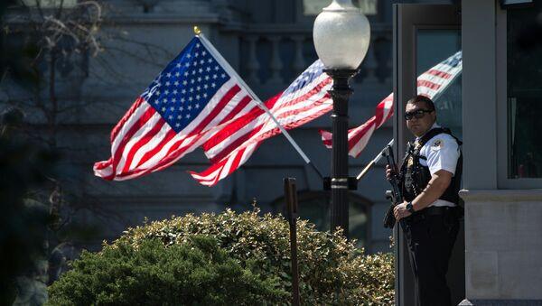 Сотрудники полиции США. Архивное фото