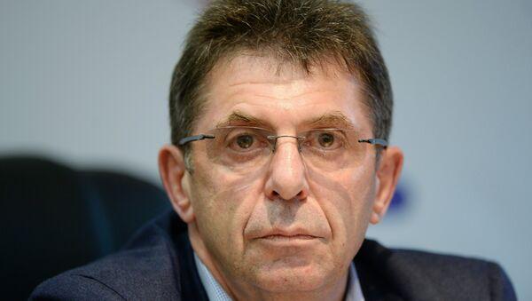 Президент Союза биатлонистов России Александр Кравцов. Архивное фото