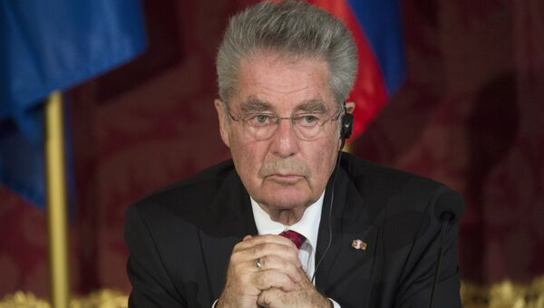 Федеральный президент Австрийской Республики Хайнц Фишер. Архивное фото