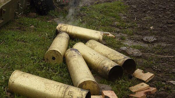 Гильзы артиллерийские. Архивное фото