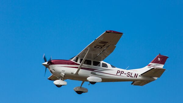 Самолет Cessna 206. Архивное фото