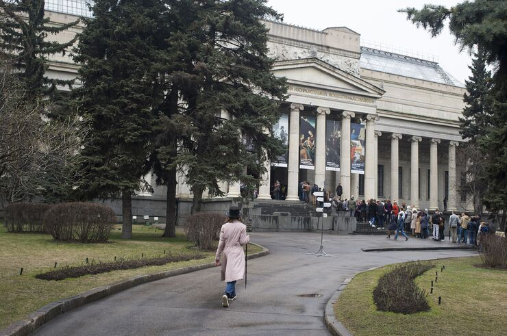 Акция Я покажу тебе музей в ГМИИ им. Пушкина