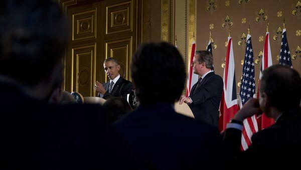 Президент США Барак Обама находится с официальным визитом в Великобритании