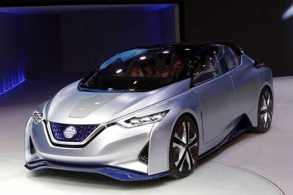 Концепт-кар Nissan IDS. Пекинский автосалон, апрель 2016