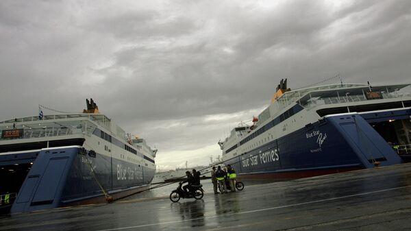 Порт Пирей, Греция. Архивное фото