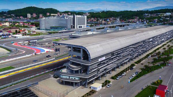 Сочи Автодром, где будет проходить российский этап чемпионата мира по кольцевым автогонкам в классе Формула-1 в Сочи