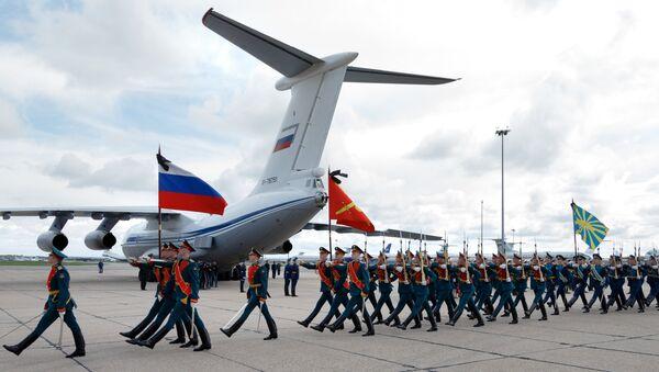 Церемония прощания с офицером спецназа, героем России Александром Прохоренко