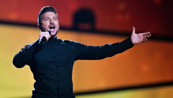 Сергей Лазарев на репетиции первого полуфинала 61-го международного конкурса песни Евровидение - 2016 в Стокгольме