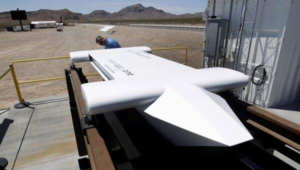 Вакуумный поезд Hyperloop One