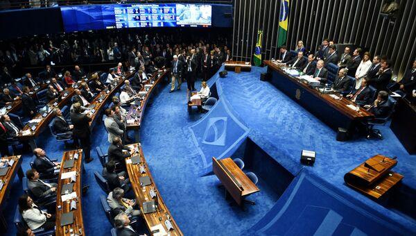 Голосование в сенате Бразилии
