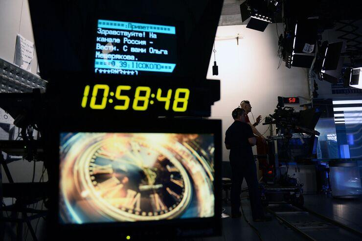 В павильоне первой студии программы Вести