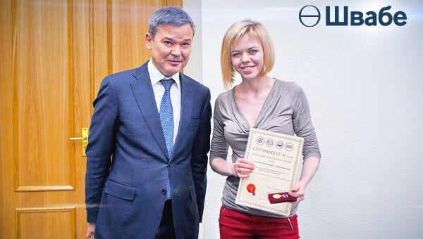 Сотрудники Швабе - лауреаты конкурса Инженер года-2015