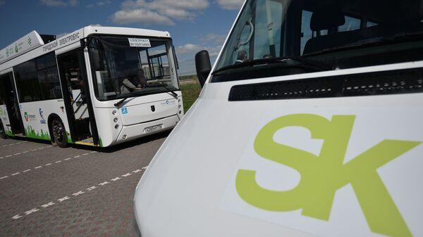 Испытания первого в России электробуса