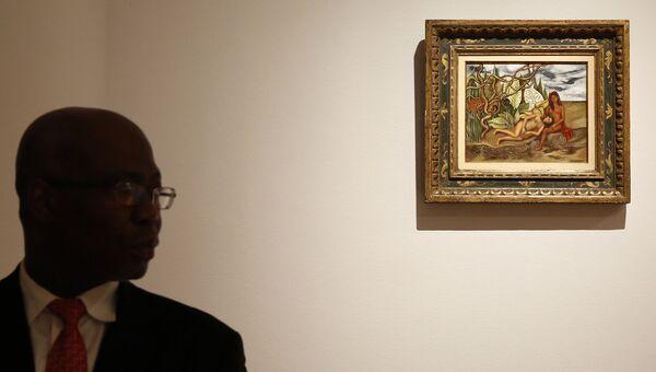 Фрида Кало. Две обнаженные в лесу. 1939 года во время аукциона Christie's 12 мая 2016 года