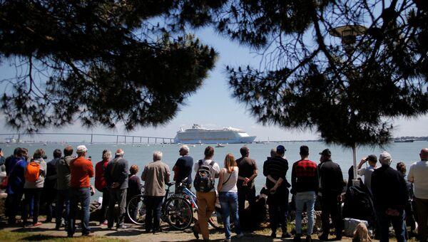 Самый большой круизный лайнер в мире — Harmony of the seas