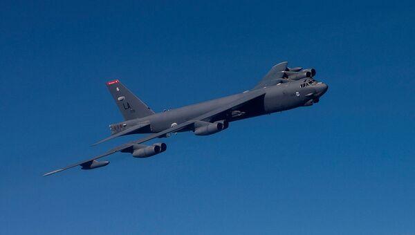 Стратегический американский бомбардировщик B-52 Superfortress