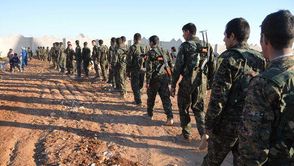 Демократические силы Сирии перед операцией по освобождению Ракки. Архивное фото