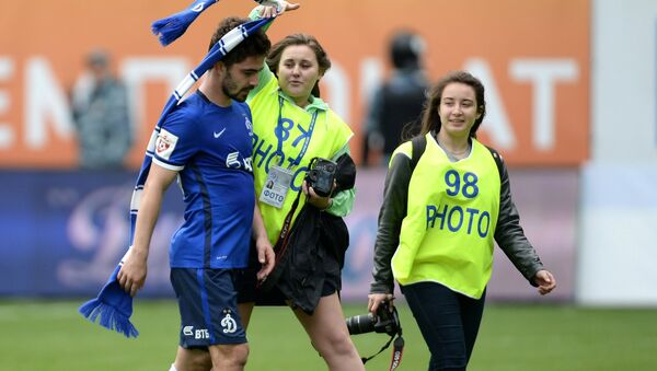 Игрок Динамо Антон Соснин. Архивное фото
