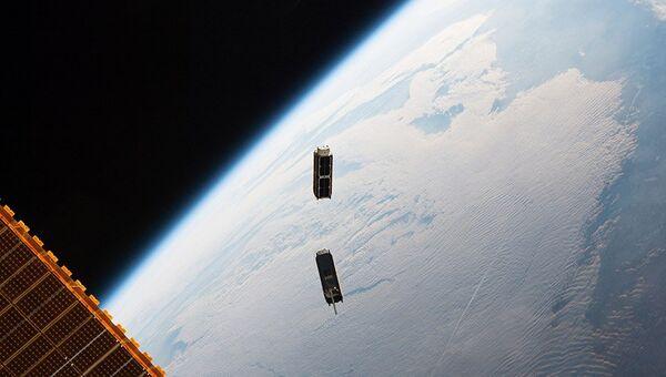 Спутники Cubesat. Архивное фото