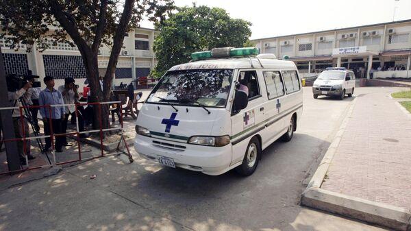 Карета скорой помощи в Камбодже