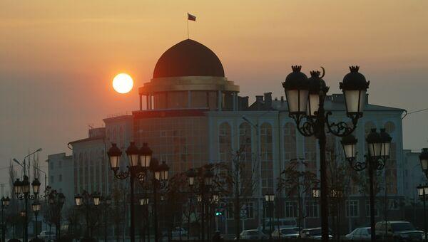Здание управления судебного департамента при Верховном суде РФ в Чеченской Республике. Архивное фото
