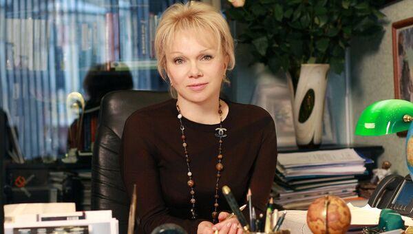 Гендиректор Московского дома книги Надежда Михайлова. Архивное фото