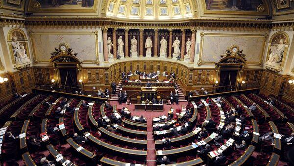 Верхняя палата парламента Франции (Сенат). Архивное фото