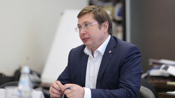 Ректор ВГУ, профессор Дмитрий Ендовицкий