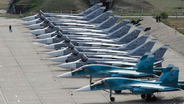 Су-34. Архивное фото