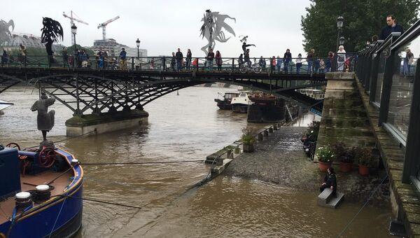 Наводнение в Париже. 1 июня 2016