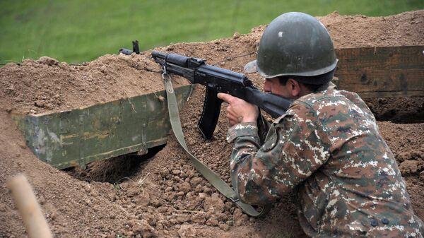 """В Азербайджане заявили, что принимают """"ответные меры"""" в Карабахе"""