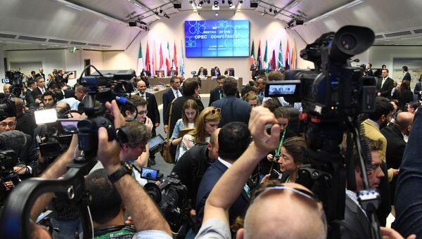 Заседание ОПЕК в Вене, Австрия. 2 июня 2016