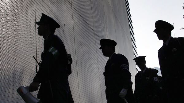 Сотрудники правоохранительных органов Японии