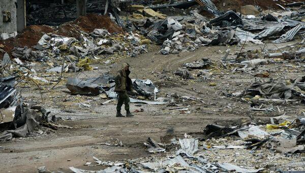 Донецкий аэропорт. Архивное фото