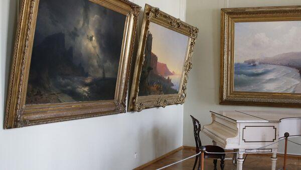 Феодосийская картинная галерея имени И.К. Айвазовского. Архивное фото