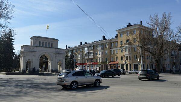 Триумфальная арка (Тифлисские ворота) в Ставрополе