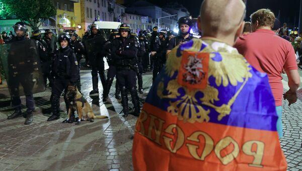 Ночные беспорядки в Марселе. Архивное фото