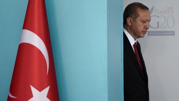Президент Турции Тайип Эрдоган. Архив